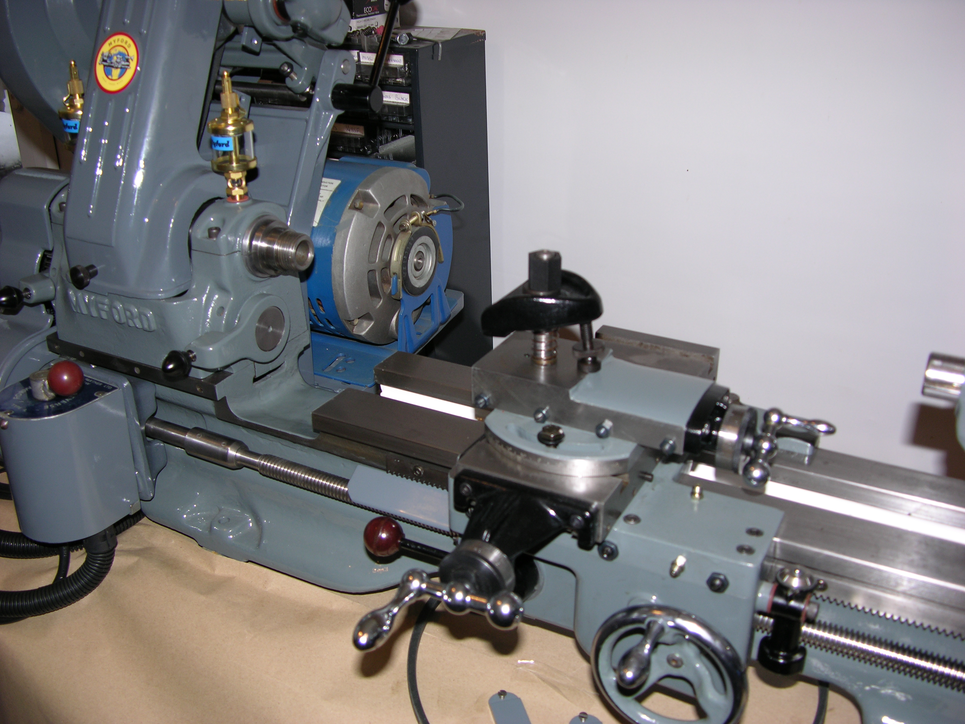 k11-130 how to connect to lathe